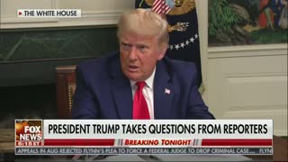 Trump Scolds Reporter on Live TV