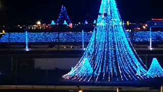 Christmas Light show Greenville pickens soeedwat