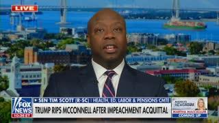 Sen. Tim Scott On Former President Trump