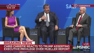 Mueller report discussion between Chris Christie and MSNBC host turns nasty