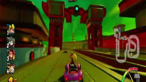 Assembly Lane Nintendo Switch Gameplay - Crash Team Racing Nitro Fueled