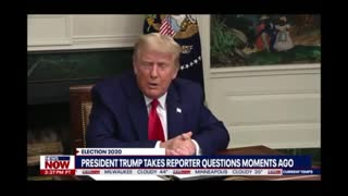TRUMP TAKES QUESTIONS ABOUT RIGGED ELECTIONS