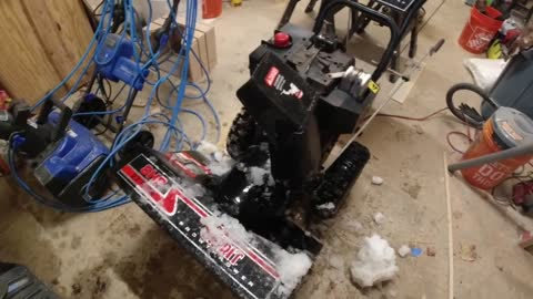 Starting & Operating a Snowblower