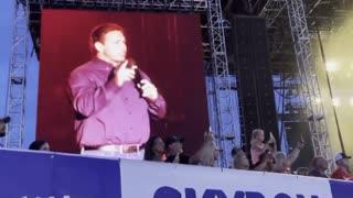 Crowd Goes WILD When Ron DeSantis Appears at FL Music Festival