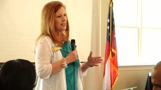 Fulton County Commissioner Liz Hausmann