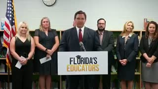 GOV DeSantis on School Mask Mandates!