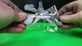Custom BONES belt buckle -RT ARTISAN WORKS