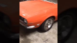 68 Chevy Camaro restoration