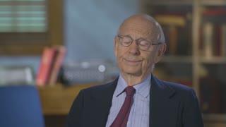 Justice Breyer reacts to Biden's Supreme Court commission