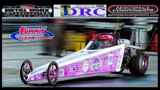 Jr Drag racer Kat The Kid Cross