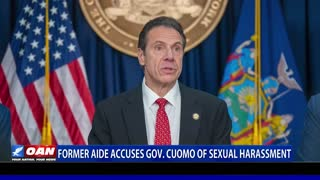 Fmr Aide accuses Gov. Cuomo of sexual harassment