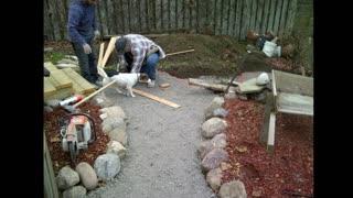 Pattern concrete work
