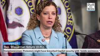 Protestors might have breached Capitol security with 'inside assistance,' Congresswoman says