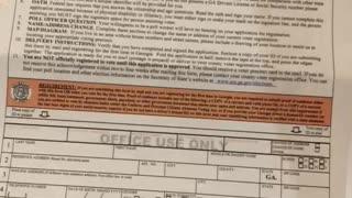 UNrequested Voter Registration Form
