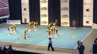 State cheerleading competition