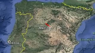 Roca genera una gran bola de fuego sobre Madrid visible en toda España