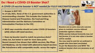 Do I Need a COVID-19 Booster Shot?
