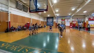 Ray Cuevas MCW Starz vs HST-1 Basketball Highlights