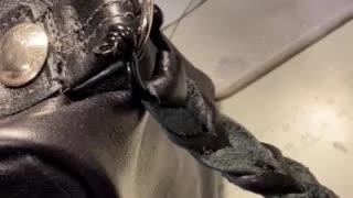 MAGA leather bag