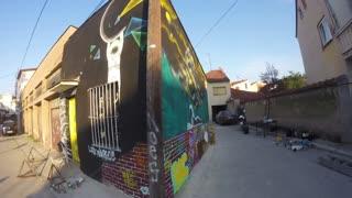 Graffiti Time Laps
