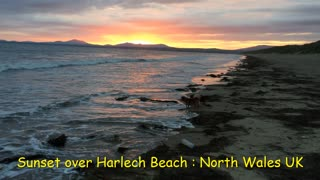 Beautiful Sunset Over Harlech Beach : Enjoy the moment ...