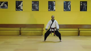 Little Samurang Yellow Belt Green Tip