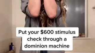 Dominion + Stimulus Check