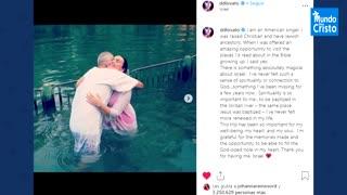 Momento mas religioso de Demi Lovato