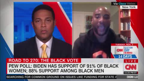 Don Lemon Sits Stunned as Guest Exposes How Dem Party Treats Black Voters