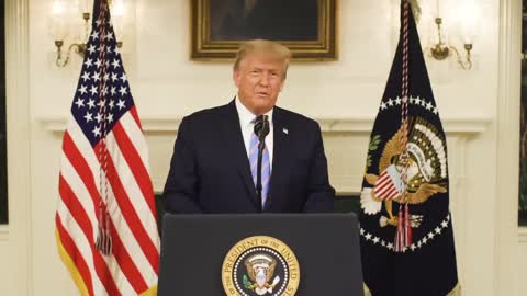 President Trump Addresses the Nation on Capitol Hill Siege