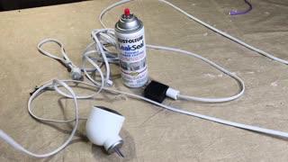 Nest Outdoor Camera Power Supply Water Leak Seal Short Workaround USB Adapter FiX
