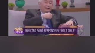 MINISTROS MASONES MENTIROSOS DE CHILE SABEN QUE EL VIRUS ES UNA FARSA Y SON DESCARADOS