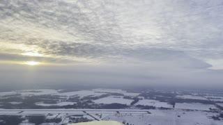 Amazing airplane sky cloud views