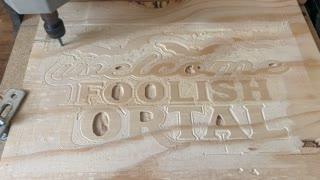 CNC wood working
