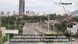 Así transcurrió el toque de queda en Bucaramanga y el área