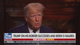 Trump Reminds Us Why We Love Him, SLAMS Biden's Open Borders Policy