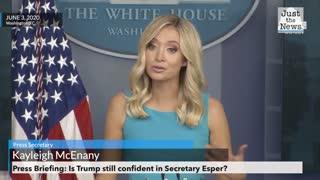 White House Press Secretary addresses Insurrection Act