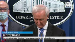 OxyContin maker Purdue Pharma reaches $8.34 bil settlement