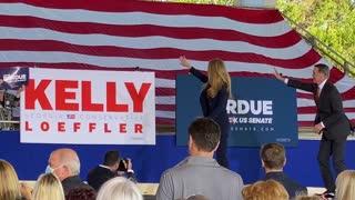 Senate race in Georgia Rally