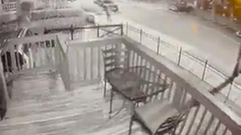 CNN Executive shares footage of him dodging gunfire in Washington .D.C