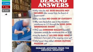Alleged ballot shredding occurring in Maricopa County, Arizona