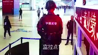 Soldier Subdues Train Station Attacker In 7 Seconds