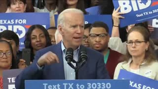 """Biden Tries To Quote The Declaration Of Independence And Forgets - """"You Know, The Thing"""""""