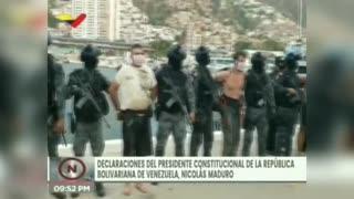 Maduro denuncia captura de estadounidenses