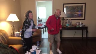 Cute quarantined grandparents dance to Adam Lambert's 'Superpower'