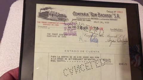 The Sights, Sounds and Memorabilia Of Cuba Pre And Post Revolution.