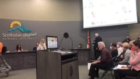 """""""COWARDS! New Board! New Board!"""" - Scottsdale Unified School District Board Shouted Down"""