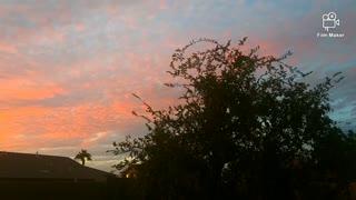 Arizona Panorama Sunset