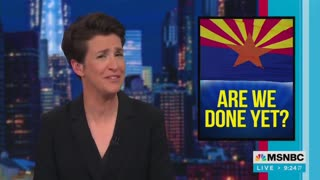 """Rachel Maddow Says Election Audits Are Driven By """"QAnon"""" Conspiracy 