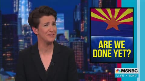 """Rachel Maddow Says Election Audits Are Driven By """"QAnon"""" Conspiracy   The Washington Pundit"""